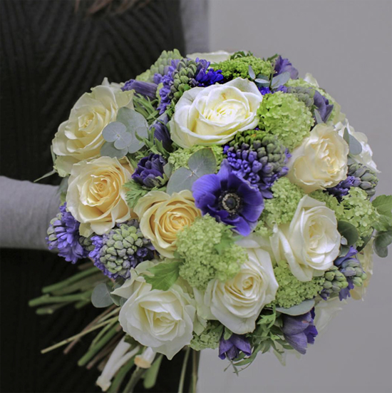 McQueens hyacinth bouquet