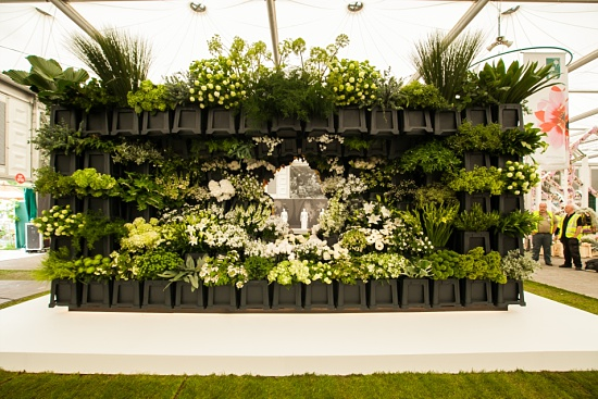 The market side - Behind Every Great Florist by New Covent Garden Market at RHS Chelsea Flower Show