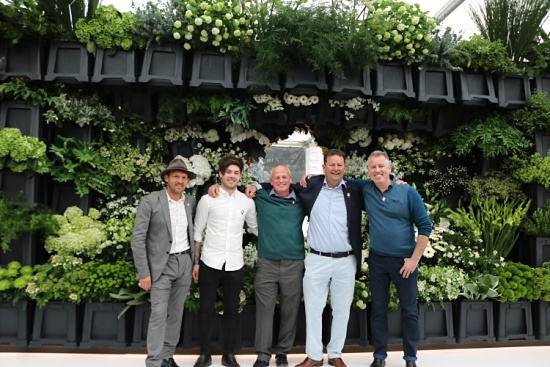 New Covent Garden Flower Market traders at RHS Chelsea Flower Show