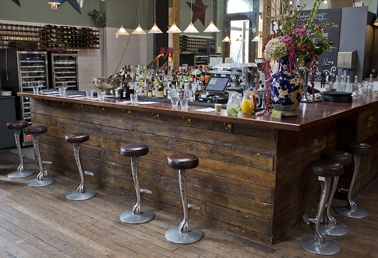 New Covent Garden Market Customer Profile - Brunswick House - Bar