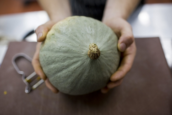 New Covent Garden Market Customer Profile - Brunswick House - Crown Prince Squash