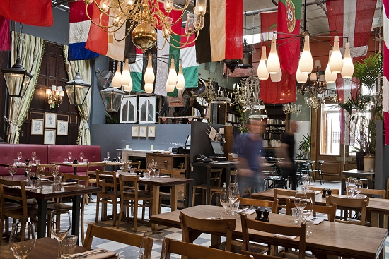 New Covent Garden Market Customer Profile - Brunswick House - Dining Room