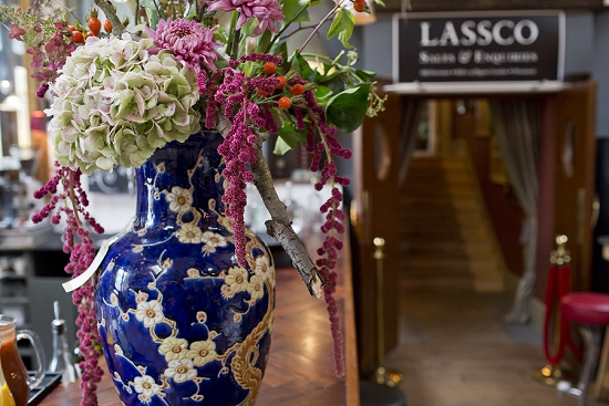 New Covent Garden Market Customer Profile - Brunswick House - Floral Display