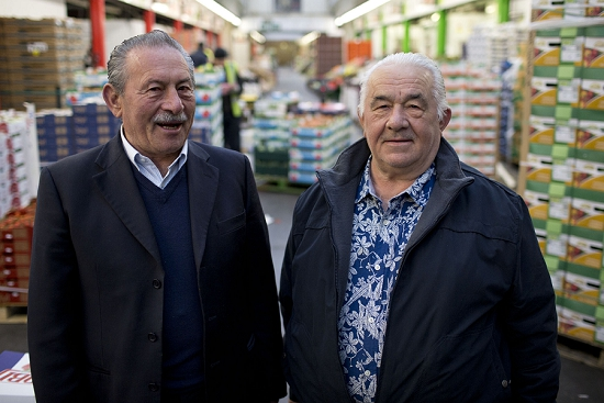 New Covent Garden Market Customer Profile - Capitan Corelli - Dario and Pasquale Corelli