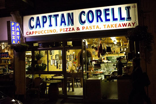 New Covent Garden Market Customer Profile - Capitan Corelli - The Restaurant