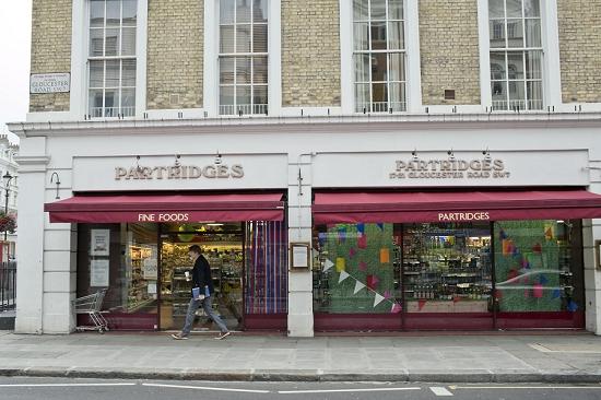 Partridges shop