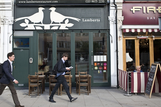 Customer Profile - Lamberts Restaurant - New Covent Garden Market
