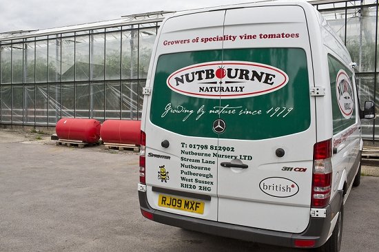 The Nutbourne Nursery van
