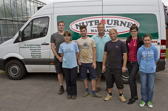 The Nutbourne Nursery team