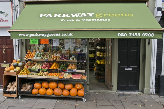 Parkway Greens Shop front
