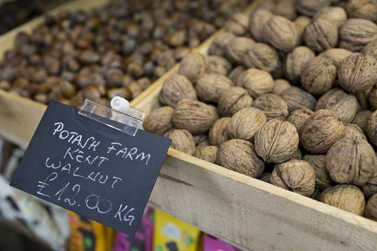 Nuts at parkway greens