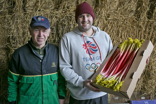 Forced Rhubarb growers E. Oldroyd & Sons