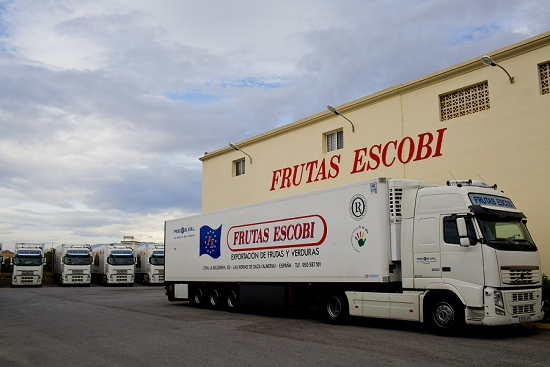New Covent Garden Market - Grower Profile: Escobi - Trucks