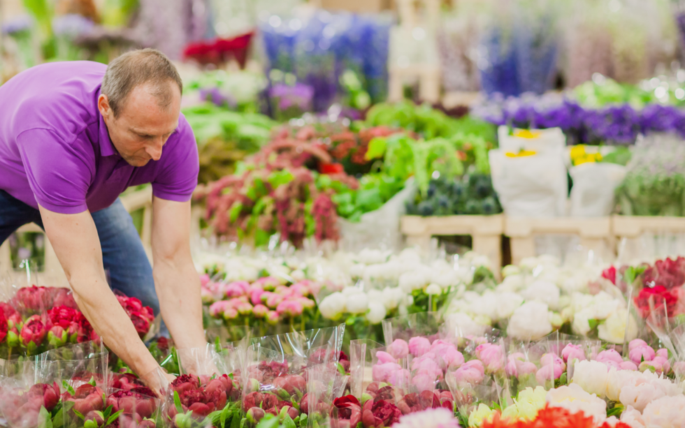 A journey through our brand new Flower Market