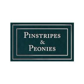 Pinstripes Peonies
