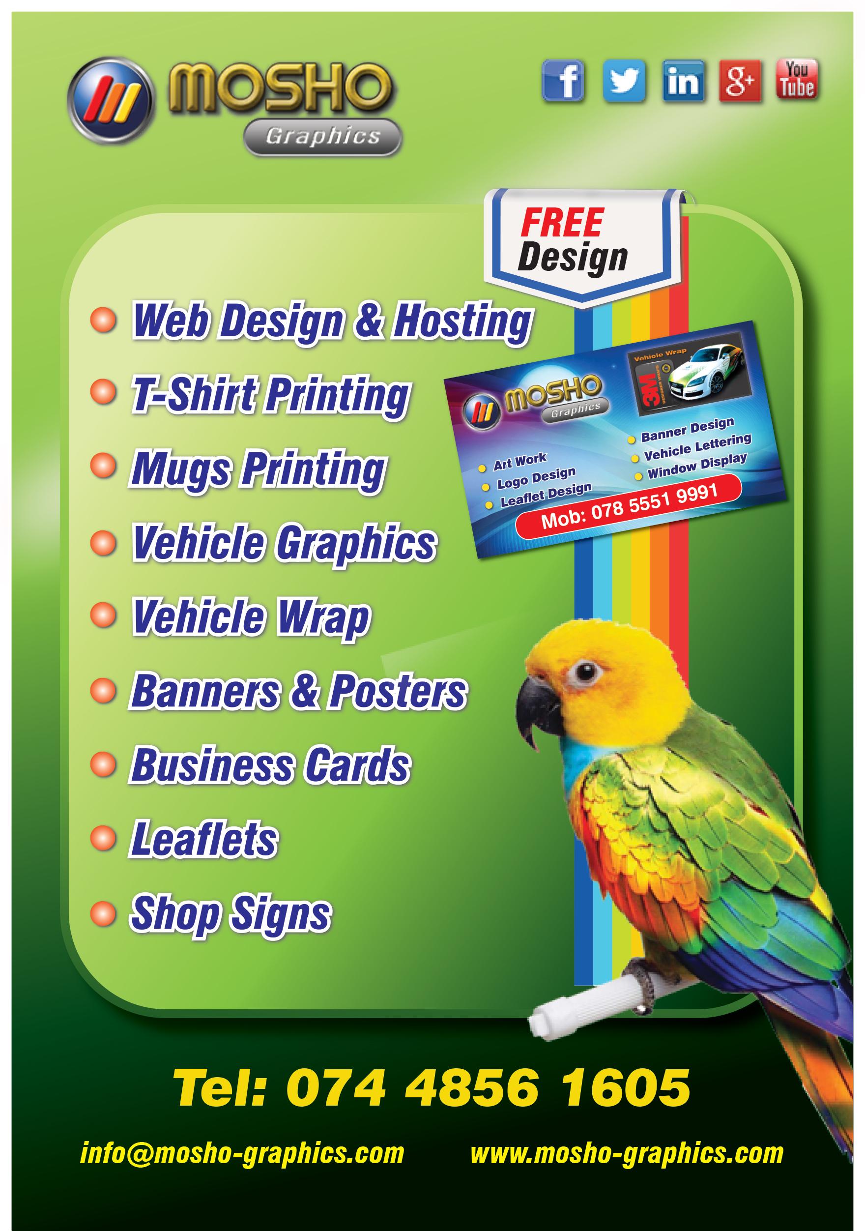 No desire to retire thumbmosho graphics leaflet colourmoves