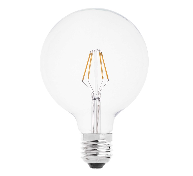 ampoules led globo filament 12 5cm faro luminaires nedgis. Black Bedroom Furniture Sets. Home Design Ideas