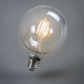 470lmGlobo Ampoules Faro Led4w FilamentØ12 5cm 2700k A54jLR