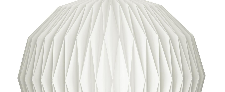 Abat jour 101 medium paper blanc o34cm h44cm le klint normal