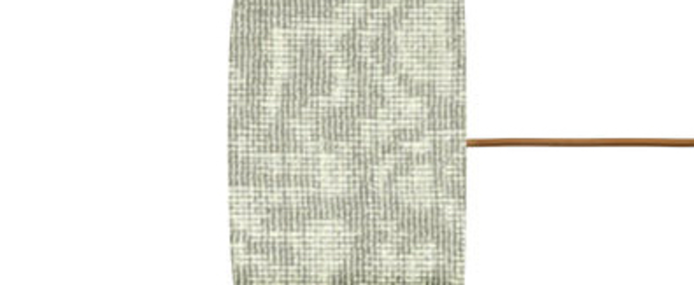 Abat jour big weave vert o17 5cm h12cm ebb and flow normal