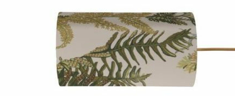 Abat jour botanical vert o11 5cm h22cm ebb and flow normal