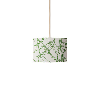 Abat jour branches vert o17 5cm h12cm ebb and flow normal
