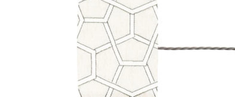 Abat jour cubica blanc o17 5cm h12cm ebb and flow normal