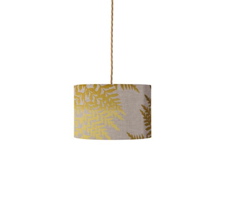 Fern leaves graphic susanne nielsen abat jour lampe shade  ebb flow sh101014 a  design signed nedgis 94296 product