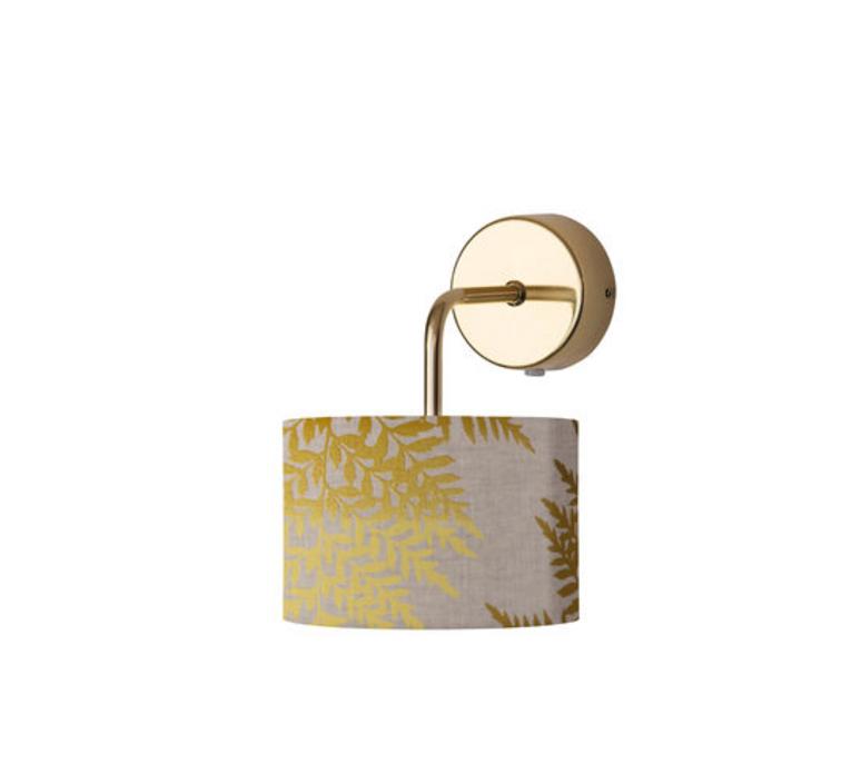Fern leaves graphic susanne nielsen abat jour lampe shade  ebb flow sh101014 a  design signed nedgis 94298 product