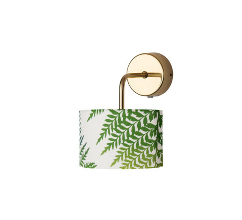 Fern leaves graphic susanne nielsen abat jour lampe shade  ebb flow sh101016 a  design signed nedgis 94293 product