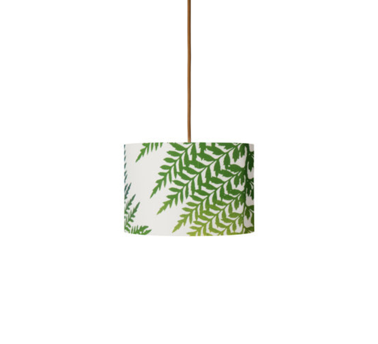 Fern leaves graphic susanne nielsen abat jour lampe shade  ebb flow sh101016 a  design signed nedgis 94295 product