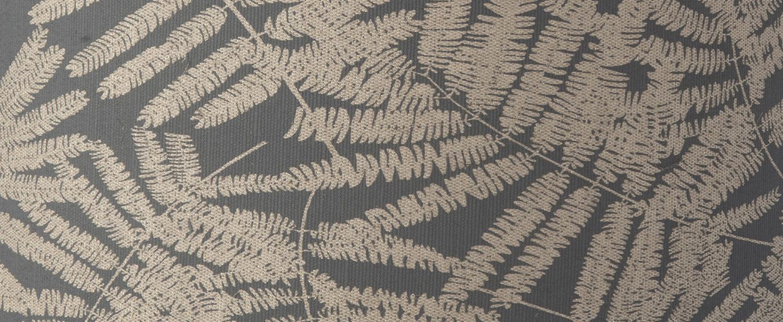Abat jour fern leaves wild gris paillette o35cm h30cm ebb and flow normal