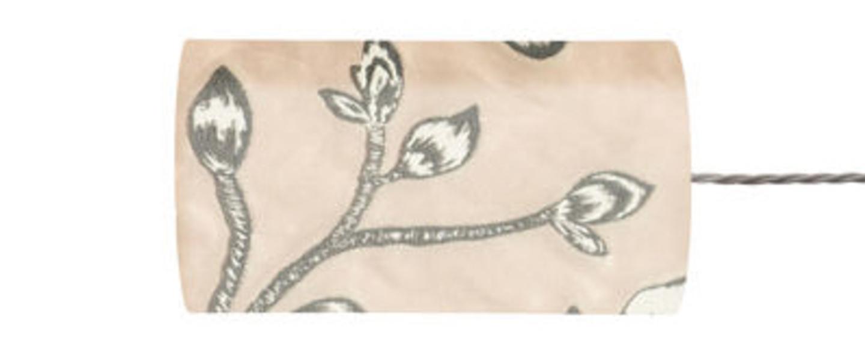 Abat jour lustica poudre o11 5cm h22cm ebb and flow normal