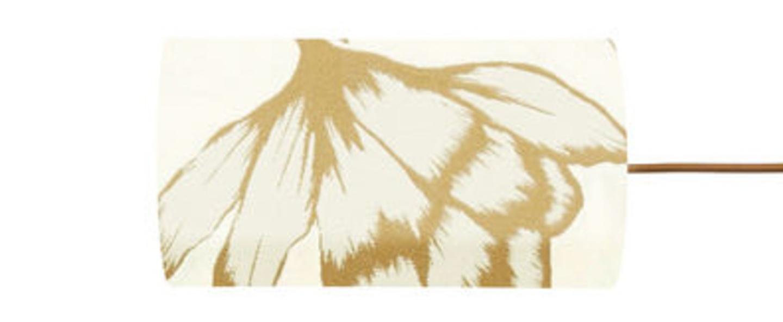 Abat jour lustica rafia o11 5cm h22cm ebb and flow normal