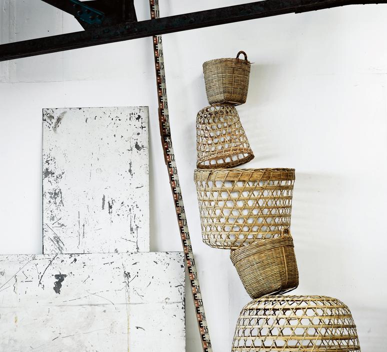 Round basket l studio tine k home  suspension pendant light  tine k home basdome lamp  design signed 58548 product