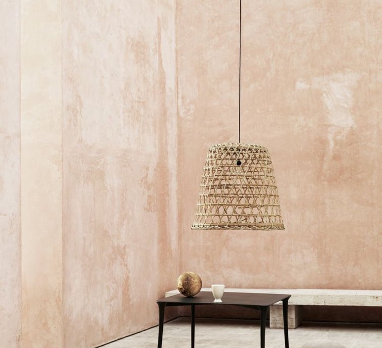 Round basket l studio tine k home  suspension pendant light  tine k home basdome lamp  design signed 78439 product