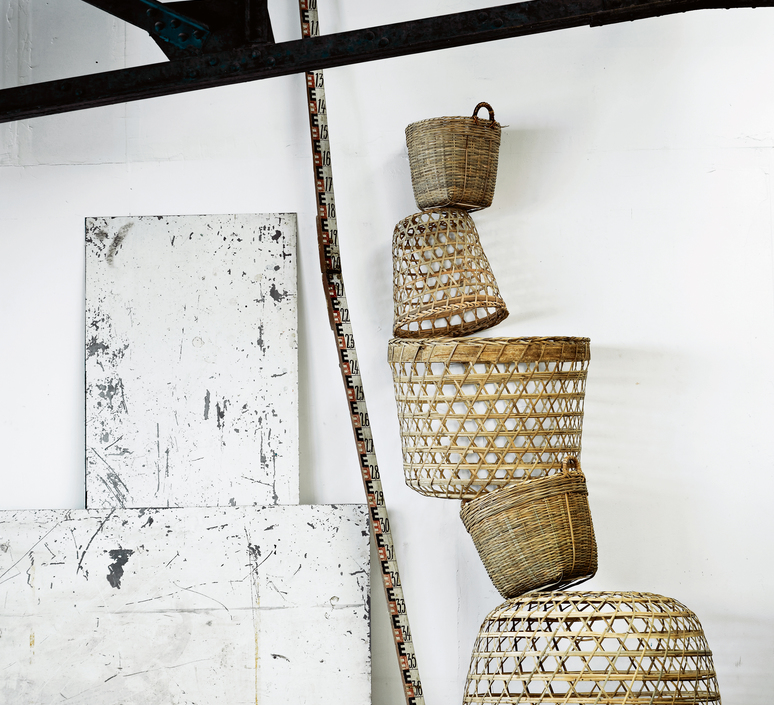 Round basket l studio tine k home  suspension pendant light  tine k home basdome lamp  design signed 60210 product