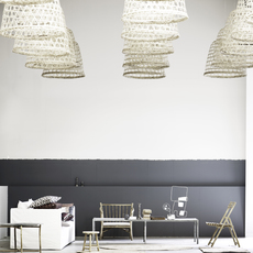 Round basket l studio tine k home  suspension pendant light  tine k home basdome lamp  design signed 60211 thumb