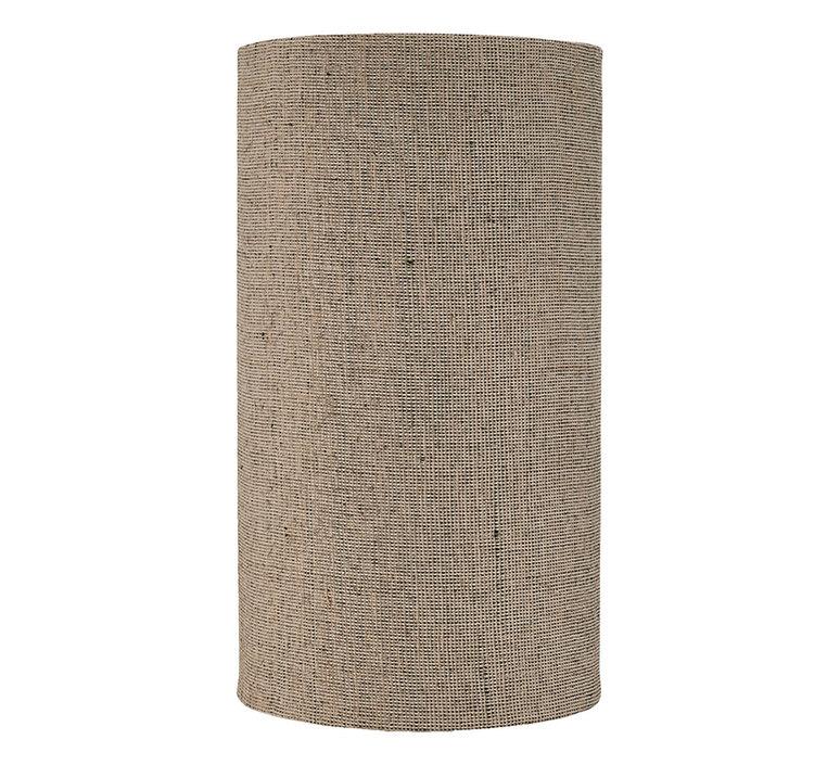 Abat jour med jute gris marron o30cm h55cm house doctor 59271 product