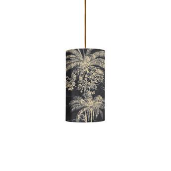 Abat jour palms gris o11 5cm h22cm ebb and flow normal