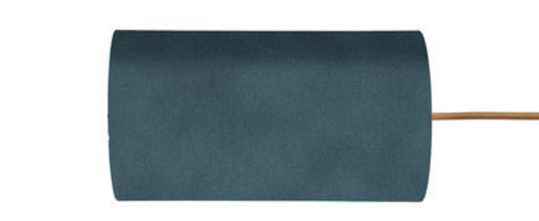 Abat jour rosyta bleu canard o11 5cm h22cm ebb and flow normal