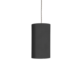 Abat jour rosyta noir o11 5cm h22cm ebb and flow normal