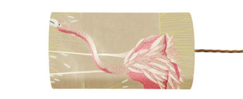Abat jour salinas blossom laurel o11 5cm h22cm ebb and flow normal