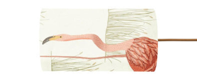 Abat jour salinas roux huitre o11 5cm h22cm ebb and flow normal