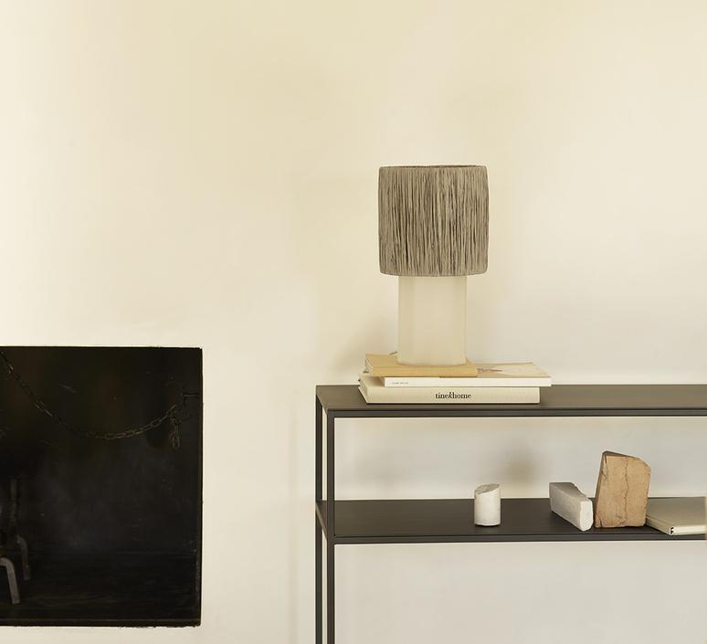 Shadebast xs studio tine k home abat jour lampe shade  tine k home shadebast xs grey  design signed nedgis 93142 product