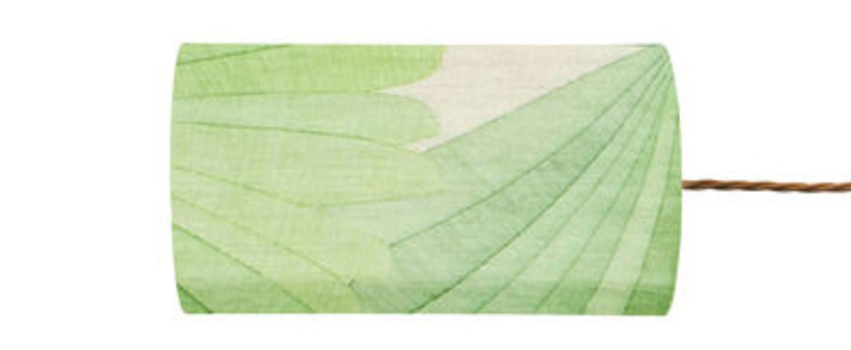 Abat jour tango vert parlmier o11 5cm h22cm ebb and flow normal