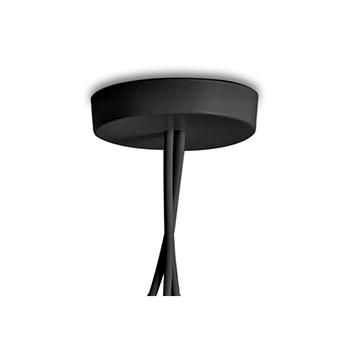suspension aim noir 24 3cm flos luminaires nedgis. Black Bedroom Furniture Sets. Home Design Ideas
