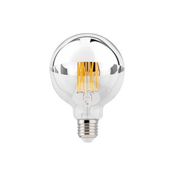 Accessoires ampoule e27 variable argent o9 5cm h13 5cm wever ducre normal