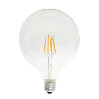 Accessoires ampoule globoled filoled transparent 2w led e27 2700k 200lm non variable o12 5cm h17 5cm marino cristal normal