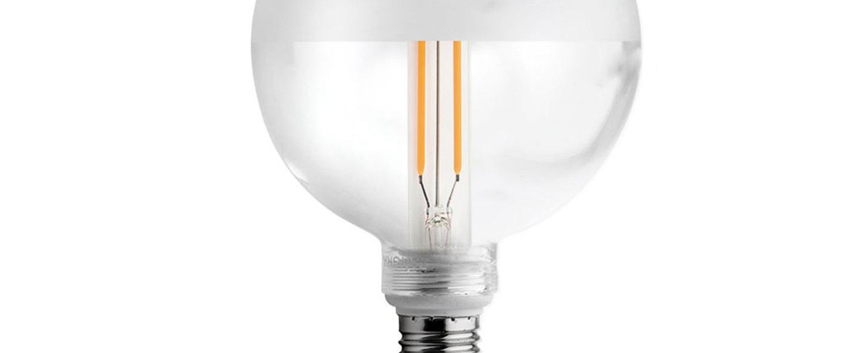 Accessoires ampoule led verre clair depoli transparent 0o12 5cm h17 5cm zangra normal